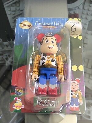 $54.99 • Buy RARE Toy Story Woody 100% Bearbrick Figure Authentic US Seller