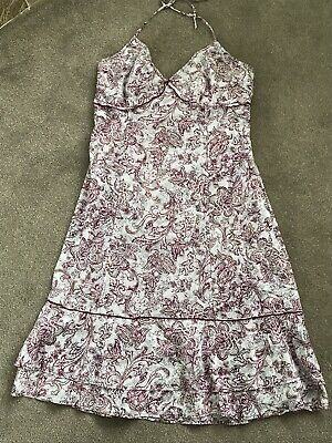 £7 • Buy Mexx Ladies Summer Dress Size12 (Label States 14 But Not!)