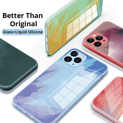 AU8.95 • Buy IPhone 12/Pro/Max 11 X/XS Max XR 7/8 Watercolour Shockproof  Tempered Case Cover