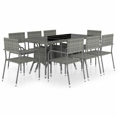 AU639.95 • Buy 8 Person Outdoor Dinner Set Furniture Modern PE Rattan Garden Table And Chairs