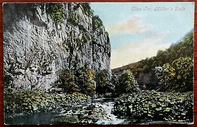 £3.75 • Buy Chee Tor, Millers Dale, Derbyshire Postcard