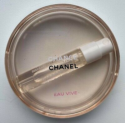 £11.75 • Buy Chanel Chance Eau Vive Edt 2 Ml Miniature Sample In Round Case Vip Gift