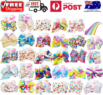 AU7.99 • Buy JOJO SIWA BOWS Beautiful Vibrant Colours Many To Choose From Select From Menu