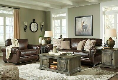 $1895 • Buy Ashley Furniture Roleson Sofa And Loveseat Living Room