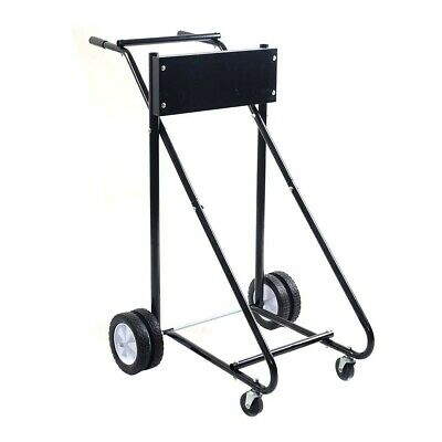 AU153.03 • Buy Motor Cart Dolly 315 Lbs Capacity Outboard Heavy Duty Boat Stand Carrier Black