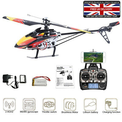 £99.99 • Buy WLtoys V913 RC Airplanes 2.4G 4CH Remote Control Metal Helicopter LCD Panel UK