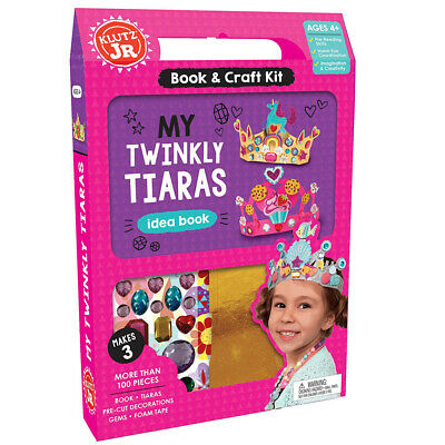 £12 • Buy Klutz Junior My Twinkly Tiaras - Make Your Own Sparkly Gem Crown Activity Kit