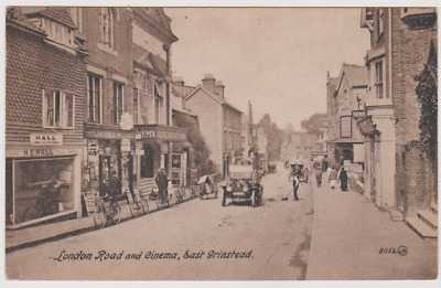 £14.99 • Buy East Grinstead - The Cinema On London Road - H E Hall Shop - Sussex - Postcard