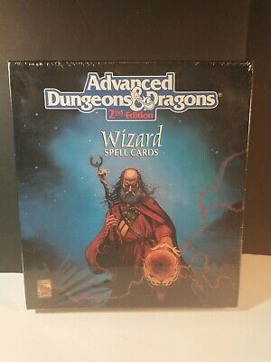 AU293.34 • Buy Advanced Dungeons & Dragons Wizard Spell Cards AD&D Box Set TSR 9356 2nd Edition