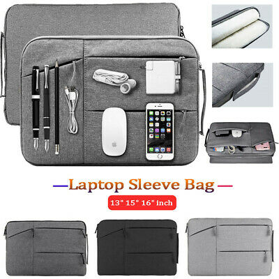 AU18.99 • Buy Carry Laptop Sleeve Case Bag For MacBook Lenovo HP Surface 13.3 15 15.6  16 Inch