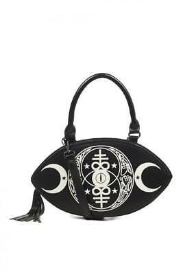 £19.99 • Buy New Moon Bag Goth Emo Banned Apparel Witch Wicca Ouija Alternative