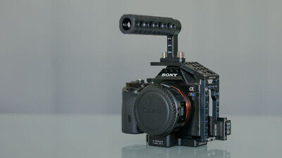 $ CDN1125.22 • Buy Sony Alpha A7s Mk 1, Movcam Cage (with Handle) & 4 Batteries
