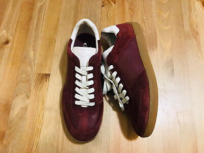 $89.99 • Buy Coach Low Top Lace Up Suede Burgundy Men's Sneaker Shoes G1555 NWOB Size 8.5