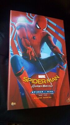 $ CDN944.12 • Buy Hot Toys MMS 426 Homecoming Spider-Man Tech Suit Deluxe Version