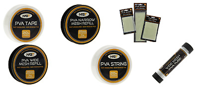 £2.99 • Buy Ngt Pva Products,choose From String,tape,refills,bags And Mesh Tube Carp Fishing