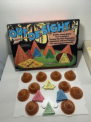 £6.99 • Buy Vintage Board Game Out Of Sight Spears Games 1979 Complete.