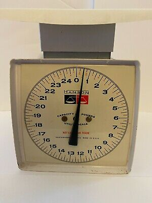 £10.78 • Buy Vintage Hanson Utility Scale - 0 To 25 Lbs - Metal - Made In USA