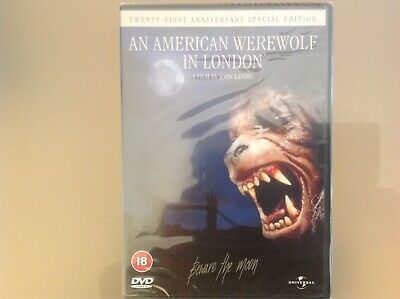 £4.79 • Buy An American Werewolf In London Dvd - Special Anniversary Edition - New & Sealed