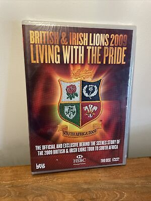 £4.95 • Buy Rugby DVD   British & Irish Lions 2009 - Living With The Pride   New   FREE P&P