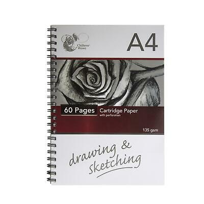 £3.49 • Buy Sketch Book Artist Drawing Pad Spiral White Cartridge A4 Paper Home Craft