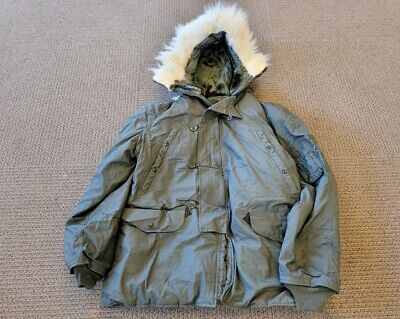 $189 • Buy US. Military Issue N-3B Extreme Cold Weather Parka Jacket Coat Size LARGE - New