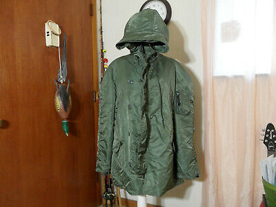 $75 • Buy Mens N-3b Extreme Cold Weather Parka Size Xl Alpha Industries USA Tennessee Made