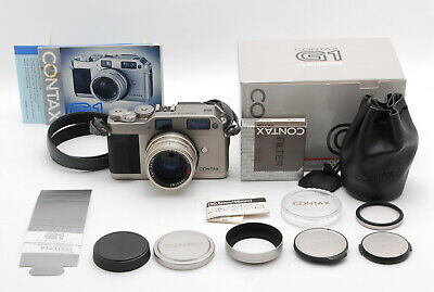 $ CDN1007.07 • Buy 【MINT BOXED】Contax G1 Rangefinder Film Camera 45mm F/2 Lens From JAPAN