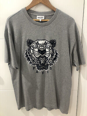 AU120 • Buy Mens Kenzo T-shirt Tiger Motif - New With Tags