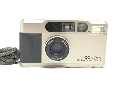 $ CDN1131.71 • Buy 【EXC+++++】CONTAX T2 D 35mm Silver Point & Shoot 35mm Film Camera From JAPAN #989