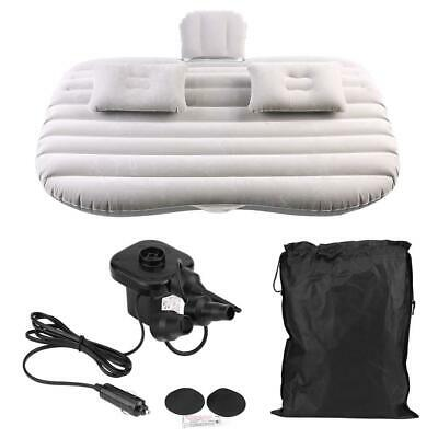 £20.94 • Buy Car Inflatable Mattress Air Cushioned Back Rest Sleep Bed Travel Outdoor UK