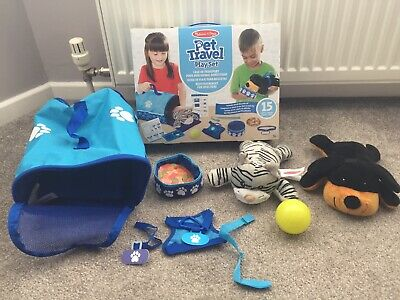 £10 • Buy Melissa And Doug Tote & Tour Pet Travel Play Set, Suitable For Age 3+