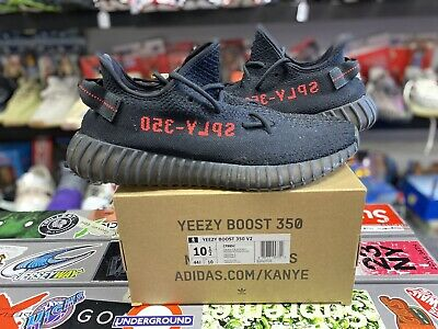 $ CDN440.60 • Buy Adidas Yeezy Boost 350 V2 Bred Size 10.5 Authentic Rare Vintage VTG Used Black