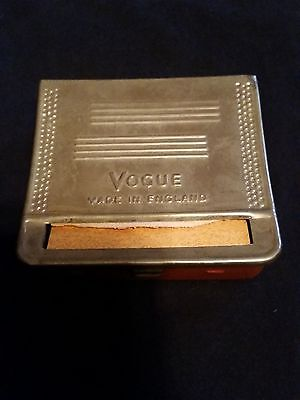 $ CDN40.53 • Buy Vogue Cigarette Rolling Machine - Made In England