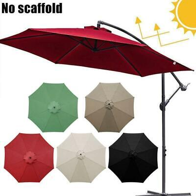 AU32.87 • Buy 3m Replacement Fabric Garden Parasol Canopy Cover For 8 Arm Umbrella Sunshade Co