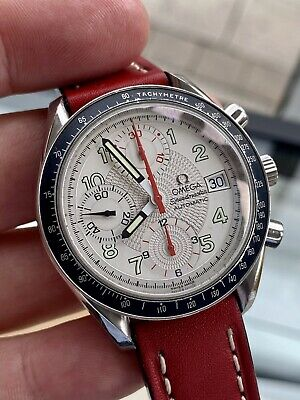 £1999.99 • Buy Omega Speedmaster Reduced 38mm Red Hand Date Dial Men's Automatic Steel Watch
