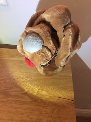 £14.99 • Buy WRINKLES THE DOG HAND PUPPET SOFT TOY Big Red Tongue Ganzbros 1981 Rare