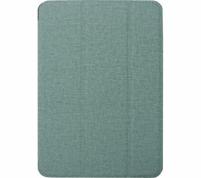 £9 • Buy XQISIT 10.2  IPad Smart Cover Case Magnetic Closure Polyurethane Teal Fabric New