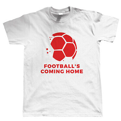 £11.98 • Buy Football's Coming Home 2021, Mens T-Shirt - Summer Supporters Squad Gift Him