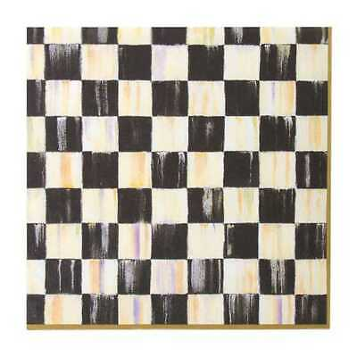 $3.79 • Buy MacKenzie Childs Courtly Check Dinner Paper Napkins-Decoupage