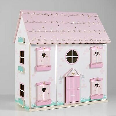 £39.99 • Buy Children Kids Girls Play Large Pink Princess Wooden Dolls House BRAND NEW BOXED