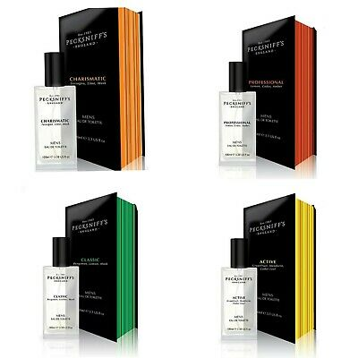 £17.99 • Buy Pecksniffs Mens 100ml EDT Classic, Charismatic, Active, Professional In Gift Box
