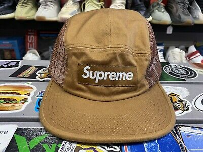 $ CDN94.41 • Buy Supreme 5 Panel Hat Brown One Size Fits All Authentic Rare Vintage VTG Used 2019