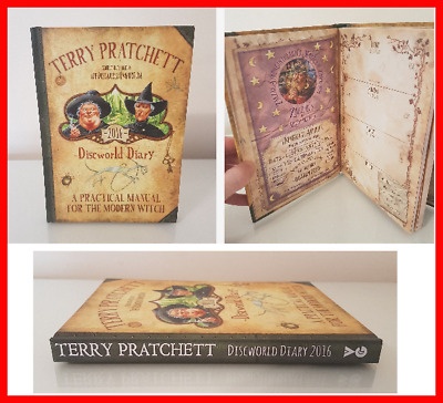 £14.99 • Buy Discworld Diary 2016 / Terry Pratchett / Witches / 1st Edt / Mint Condition