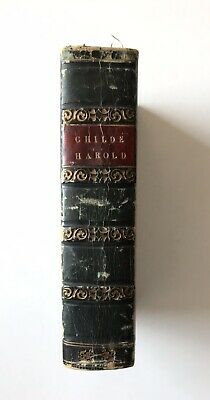 £169.99 • Buy Childe Harold's Pilgrimage By Lord Byron 1819 Leather Binding: 2 Volumes In 1