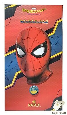 $ CDN803.15 • Buy Ready New Authentic Hot Toys Spiderman Spider-man Homecoming Deluxe 1/4 Qs015