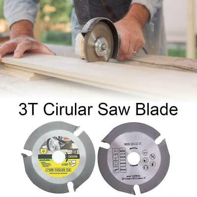 £5.69 • Buy 1PC 125mm 3T Circular Saw Blade Carving Disc Wood Cutting For Angle Grinder