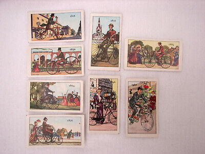 £2.99 • Buy Kellogg Company - The Story Of The Bicycle - 8 Collectable Cards