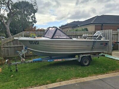 AU7000 • Buy Quintrex 420 Dory, With 30 HP Yamaha 2 Stroke