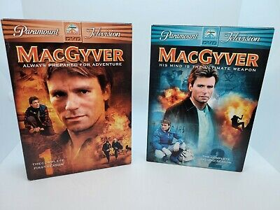$14.20 • Buy MacGyver DVD Season 1 And 2 By Richard Dean Anderson - VERY GOOD Clean Discs