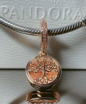 AU31.99 • Buy Authentic Pandora Rose Gold ALE R 781988CZ Family Forever Dangle Charm # New